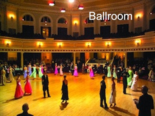 Latin and Ballroom Social Dance Parties