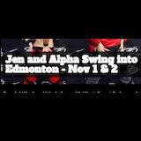 Jen & Alpha Swing into Edmonton