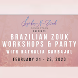 Brazilian Zouk Weekender w Nathalia Carbajal in PDX