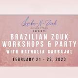 Brazilian Zouk Weekender w Nathalia Carbajal in PDX