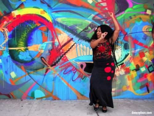 Linda Richardson Earthy Flamenco Dance