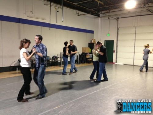 Country Swing Dancers