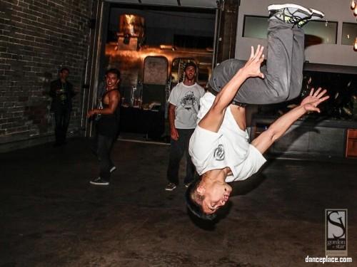 Breakdancing Ninja