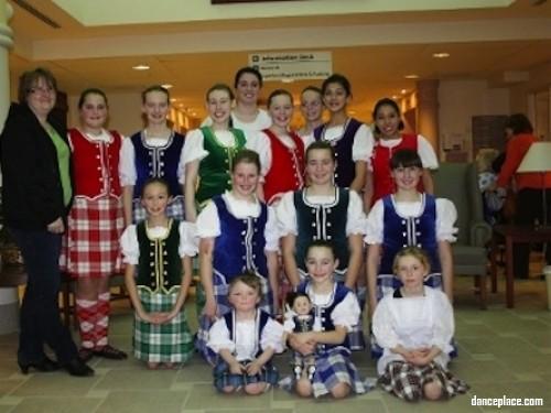 Highland Dancing School By Mary Ellen Cann