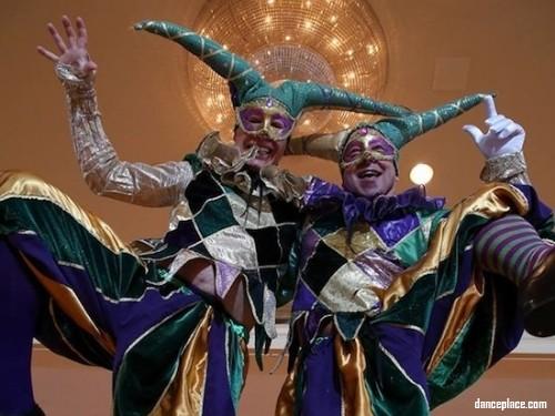 New Orleans Dance Mardi Gras