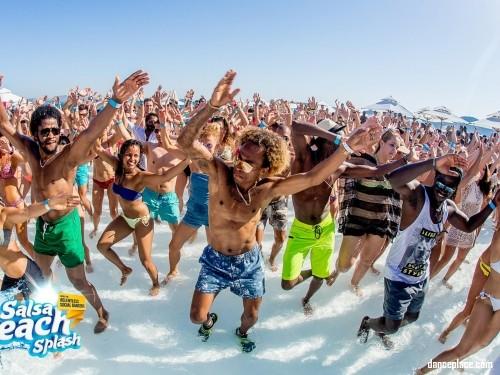 Salsa Beach Splash Festival