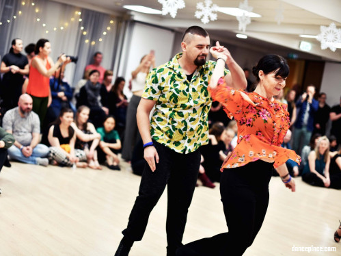 Winter White West Coast Swing