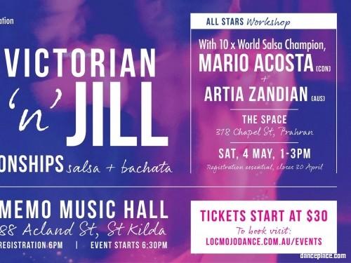 The Inaugural Victorian Jack & Jill Championships - AUTUMN EDITION